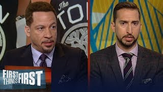 Video D'Angelo Russell is a 'good fit' with the Warriors - Chris Broussard | NBA | FIRST THINGS FIRST MP3, 3GP, MP4, WEBM, AVI, FLV Agustus 2019