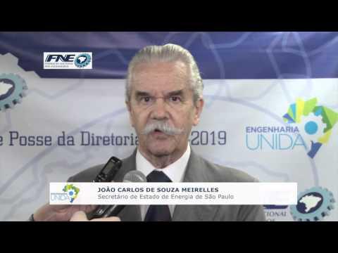 João Carlos de Souza Meirelles  – Secretário de Energia do Estado de São Paulo