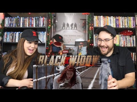 Black Widow - Official Teaser Trailer Reaction / Review