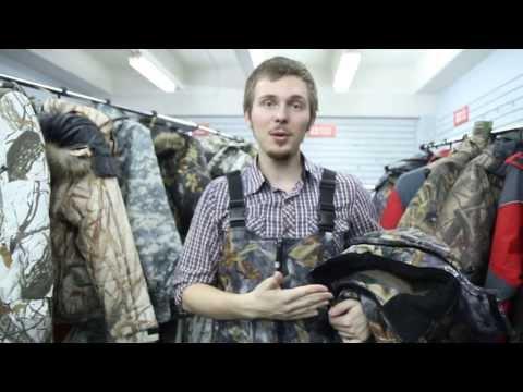 Зимний костюм для охоты Nova Tour «Форестv.2». Видеообзор.