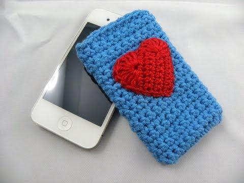 Häkeln – Herz für IPhone