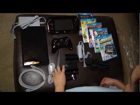 new Wii u - HANDS ON: Nintendo Wii U Unboxing Release Date: 11/18/2012 $299 8 GB Bundle $349 32 GB Bundle with Nintendo Land Pre-Order yours today. Nintendo Wii U Deluxe...