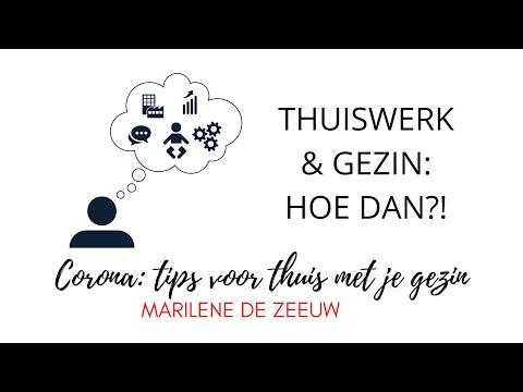 Thuiswerk & Gezin: Hoe dan?! Organiseren GEZINSLEVEN - Samen uitvinden - Marilene de Zeeuw