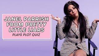 Janel Parrish Plays Pretty Little Liars Plot Quiz | Plot Quiz by Seventeen Magazine