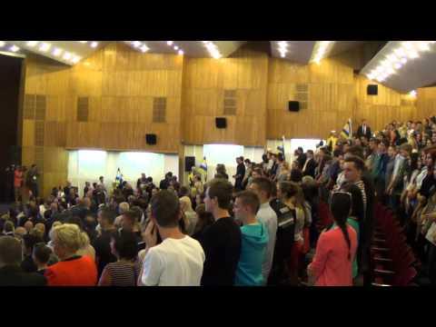 VIDEO! Prezident Ivan Gašparovič v Humennom