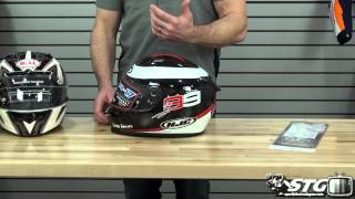 10. 2014 Motorcycle Helmet Buying Guide $200 and Under from Sportbiketrackgear.com