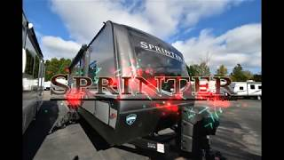 1. 2019 Keystone Sprinter Campfire 26RK at Southern RV in Mcdonough, GA