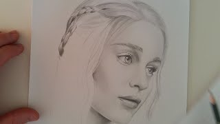 Pencil drawing of Emilia Clarke by Baris Bagci. Drawing time: 4 hours. Instagram: https://instagram.com/artofbagci Instagram: https://instagram.com/babagci.
