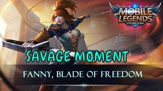 Download Video Fanny Savage Moment 2017 old & new map mobile legends ( tz zxuan, saints oura, dll ) MP3 3GP MP4