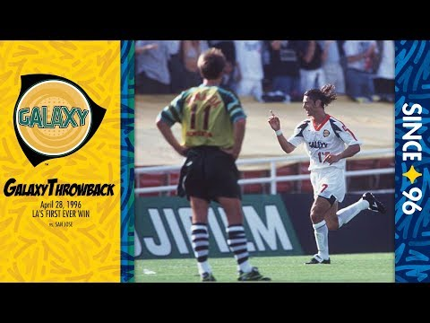 Video: On this day: LA Galaxy get their first win vs. San Jose | #GalaxyThrowback