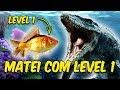 Download Lagu MATEI O MOSSASAURO COM PEIXE LEVEL 1 | Feed and Grow Fish Mp3 Free