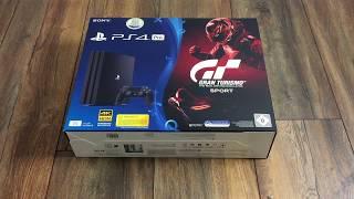 Playstation 4 Pro + Gran Turismo Sport im Bundle # Review Test Unboxing Deutsch PS4