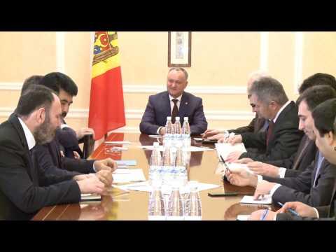 Președintele Republicii Moldova a avut o întrevedere cu ambasadorii statelor ex-sovietice, acreditați la Chișinău