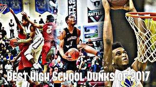 The Best High School Dunks of 2017