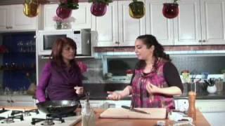 Fatemeh Tirafkan Cooking