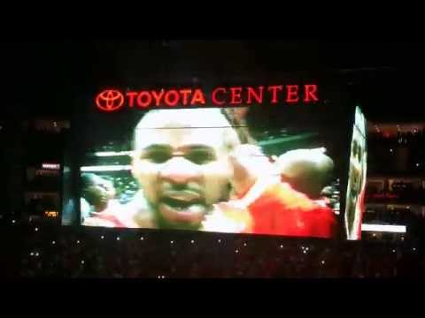 Houston Rockets Championship Reunion Intro Video
