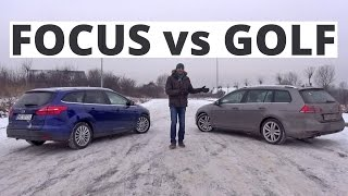 VW Golf kontra Ford Focus - porównanie - Zachar OFF