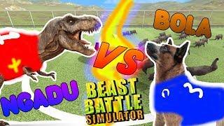 Video DINOSAURUS HEWAN TANDING BOLA | Beast Battle Simulator Indonesia MP3, 3GP, MP4, WEBM, AVI, FLV Oktober 2017