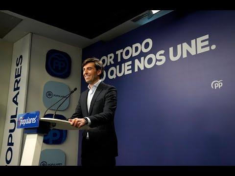 Pablo Montesinos comparece en rueda de prensa tras...