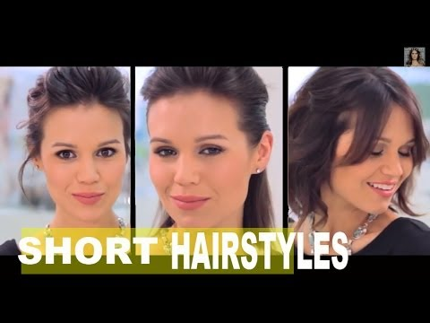 3 Ways To Style a Shoulder-Length Bob | How to Style Short Hair | NewBeauty Tutorial