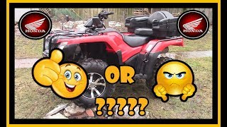 2. Honest Honda Rancher Review - 2015 TRX420 DCT EPS IRS