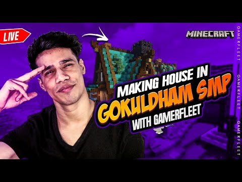 Making My First House in Gokuldham SMP | Chicken Dance Tonight