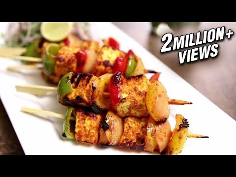Paneer Tikka Recipe | How To Make Paneer Tikka On Tawa | The Bombay Chef – Varun Inamdar