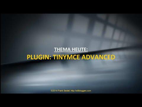WordPress Plugin: TinyMCE Advanced & Emoticons
