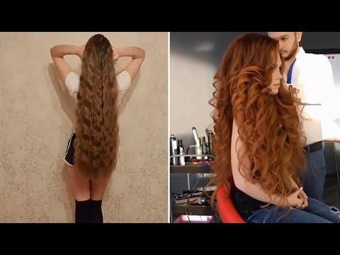 வித்தியாசமான அழகான சிகை அலங்காரம்  Top 10 Amazing Hair Transformations  Beautiful Hairstyles Compilation