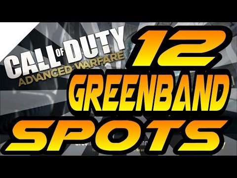 12 Greenband Spots & Glitches! - Advanced Warfare (jumps, Hiding & Infected Spots After Patch)