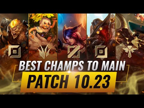 3 BEST Champions To MAIN For EVERY ROLE in Patch 10.23 - League of Legends Preseason 11