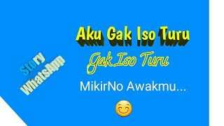 download lagu gak iso turu