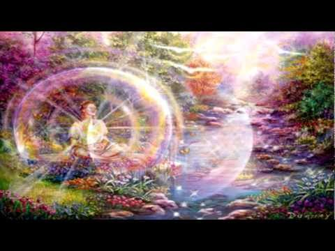 angeles - Meditacion Guiada atraves de Texto ,( Musica de Peter Kater, dibujos de Mario Duguay) para conectar con los portales de la 5ª dimension, acceder a los archiv...