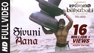 Video Baahubali Songs | Sivuni Aana Video Song | Prabhas, Anushka Shetty,Rana,Tamannaah | M M Keeravani MP3, 3GP, MP4, WEBM, AVI, FLV April 2019