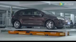 Robô da Hikvision estaciona seu carro em 2 minutos