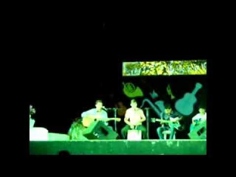 Ministério Ágape de Lago Verde-MA cantando no Show de Rafaela Pinho