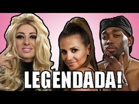 Ariana Grande ft. Iggy Azalea - Problem PARODY (Paródia - Legendada PT-BR) [Key Of Awesome  #87]