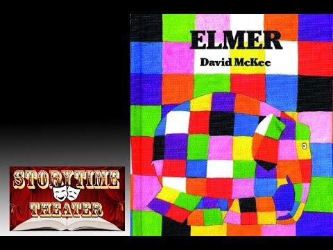 Elmer (the Patchwork Elephant) - Children's Books Read Aloud