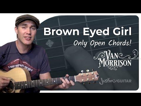 Brown Eyed Girl – Van Morrison (Easy Songs Beginner Guitar Lesson BS-304) How to play