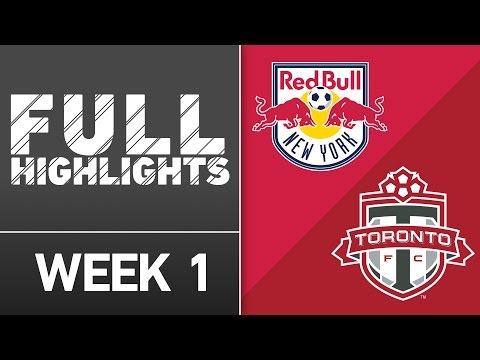 MLS Highlights: New York Red Bulls vs. Toronto FC | March 6, 2016