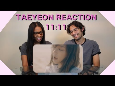 [Non-Kpop and SONE Reaction] TAEYEON 태연_11:11_Music Video (видео)