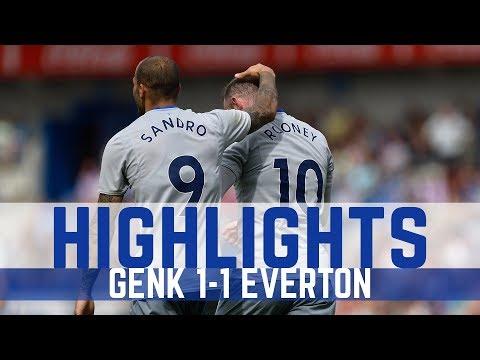 Video: KRC Genk 1-1 Everton - ROONEY scores again!