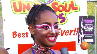 Sport America ,representatives of  Ethiopian circus team performancen held in Washington Dc