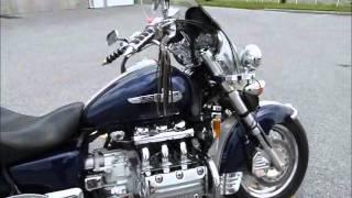 1. 2001 Honda Valkyrie GL1500 stock #9-0627 demo ride & walk around @ Diamond Motor Sports
