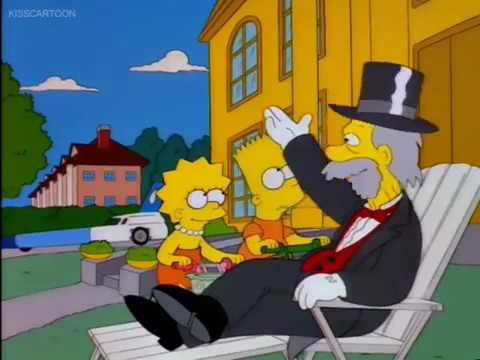 The Simpsons: The Day The Violence Died part 8/9