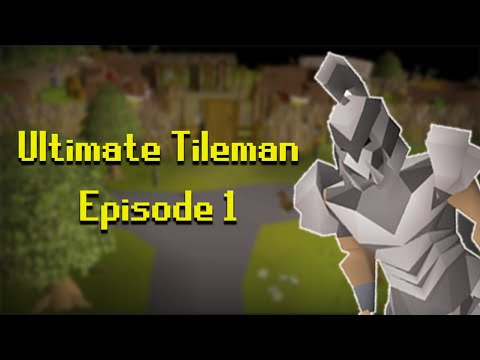 I made one of the most extreme snowflake uim's in osrs (Ultimate Tileman #1)