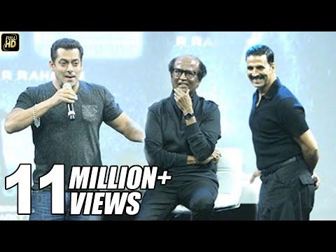 Salman Khan's BEST Praise For Rajnikanth & Akshay Kumar In Robot 2.0 Movie | Karan Johar, Amy