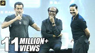 Video Salman Khan's BEST Praise For Rajnikanth & Akshay Kumar In Robot 2.0 Movie MP3, 3GP, MP4, WEBM, AVI, FLV September 2018