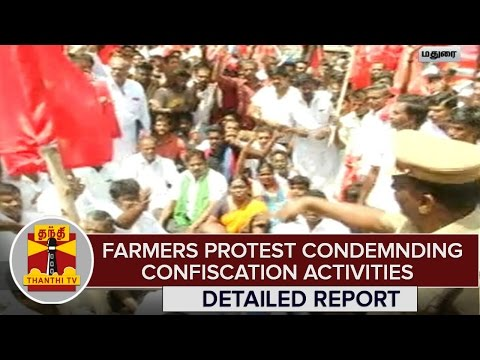 Detailed-Report--Farmers-Protest-Condemning-Confiscation-Activities-in-Madurai--Thanthi-TV