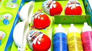 Video 4 Surprise Eggs Painting Set - Kinder Easter Eggs Painting MP3, 3GP, MP4, WEBM, AVI, FLV Mei 2017